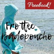 Nähanleitung: Badeponcho aus Frottee nähen