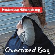 Nähanleitung: Tasche nähen Oversized Bag