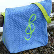 Nähanleitung: Tasche nähen aus Softshell