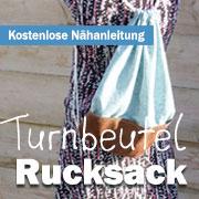 Nähanleitung: Turnbeutel-Rucksack